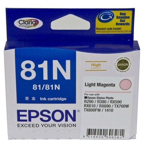 Epson 81N High Yield Light Magenta Ink - 805 pages