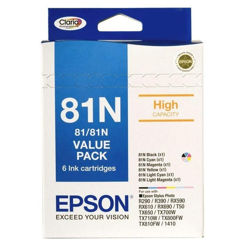 Epson 81N High Yield Ink Value Pack