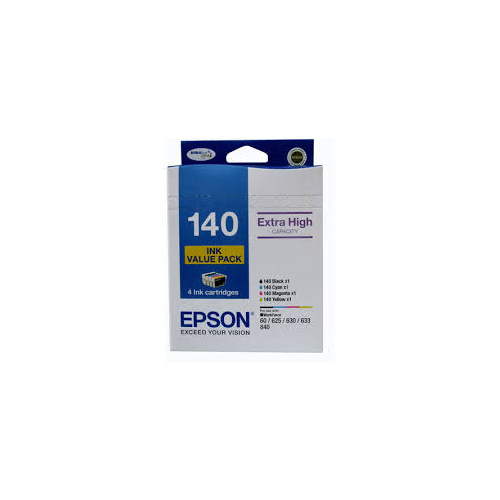 Epson 140 Ink Value Pack - Black, Cyan, Magenta & Yellow