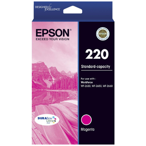 Epson 220 Low Yield Magenta Ink - 165 pages