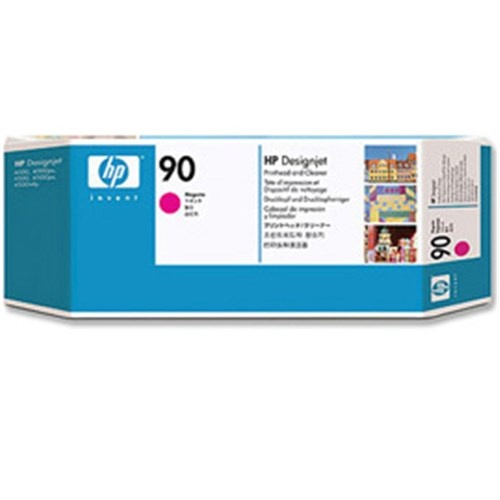 HP 90 C5056A Magenta Printhead and Cleaner DesignJet 4000