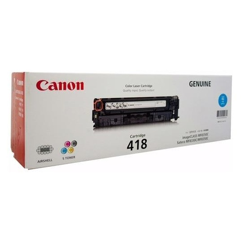 Canon CART418 Cyan Toner - 2,900 pages