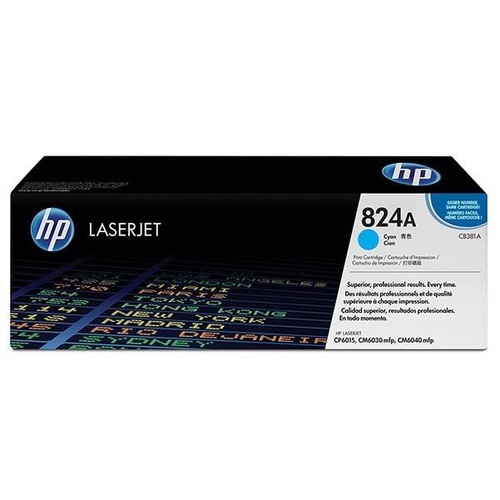 HP CB381A Cyan Toner - 21,000 pages