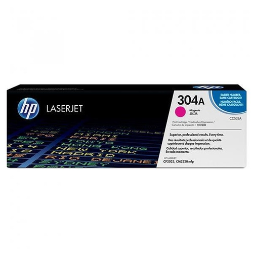 HP CC533A Magenta Toner - 2,800 pages
