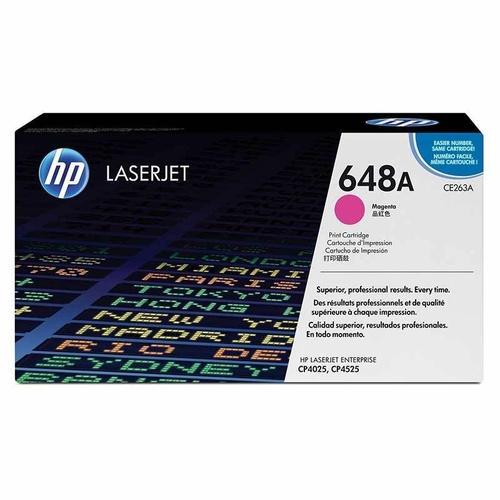 HP CE263A Magenta Toner - 11,000 pages