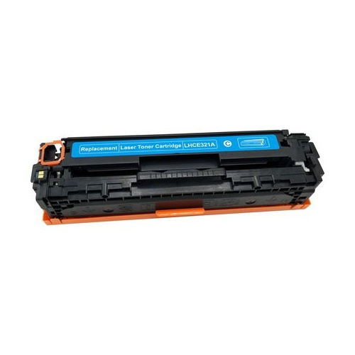 Compatible HP CE321A Cyan Toner - 1,300 pages