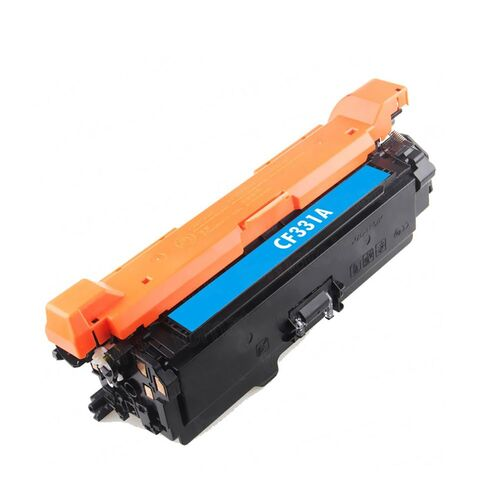Compatible #654X CF331A Cyan Toner - 15,000 pages
