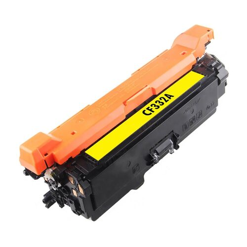 Compatible #654X CF332A Yellow Toner - 15,000 pages