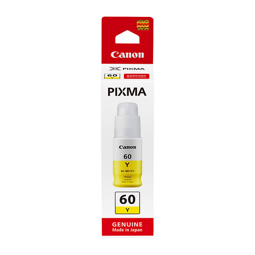 Canon GI60 Yellow Ink Bottle