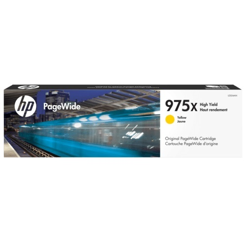 HP L0S06AA 975X Yellow Toner - 7,000 pages
