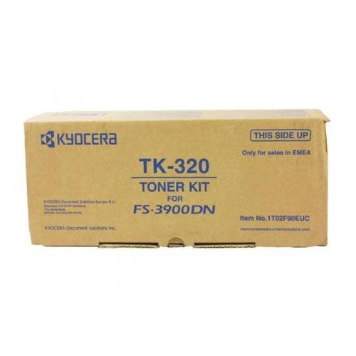Kyocera TK320 Black Toner Kit - 15,000 pages