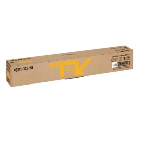 Kyocera TK8119 Yellow Toner - 6,000 pages