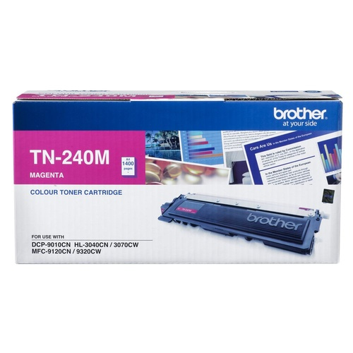 Brother TN240 Magenta Toner - 1,400 yield