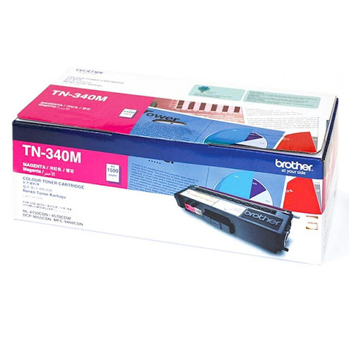 Brother TN340 Magenta Toner - 1,500 yield