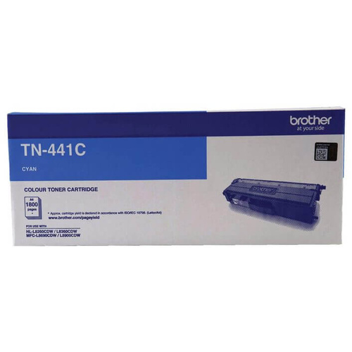 Brother TN441 Cyan Toner - 1,300 yield
